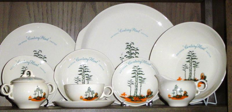 Blakely Pottery Century Plant Set