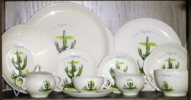 Blakely Pottery Saguaro Set