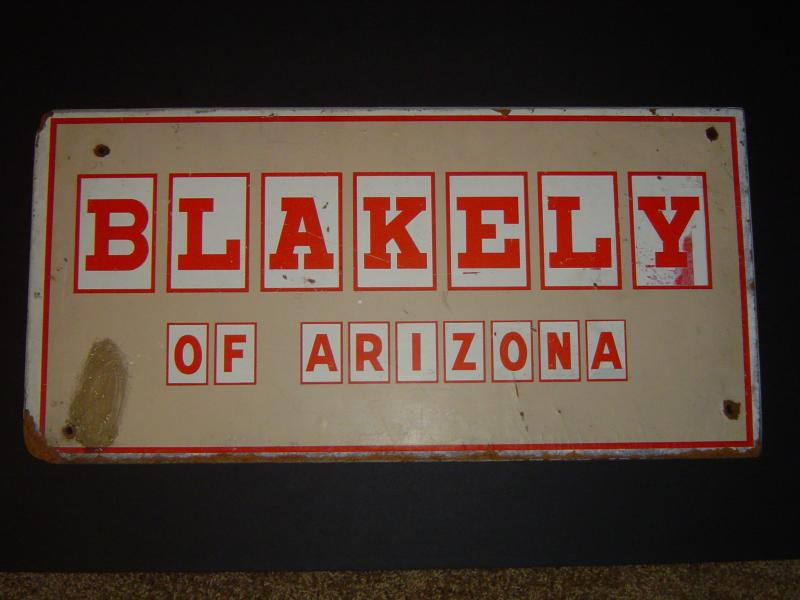 Blakely Sign Block Letters